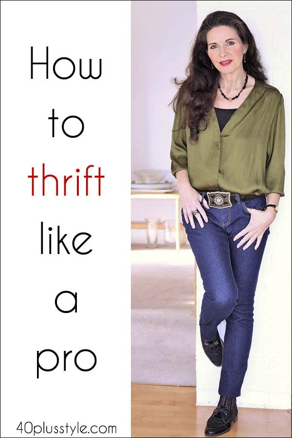 Secrets and tips on how to thrift like a pro How to thrift like a pro | 40plusstyle.com