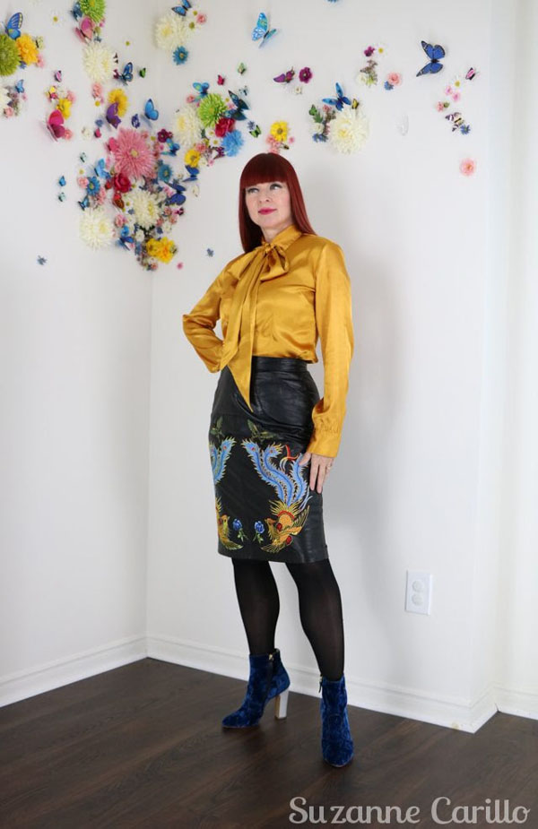 how to wear vintage over 40 | 40plusstyle.com
