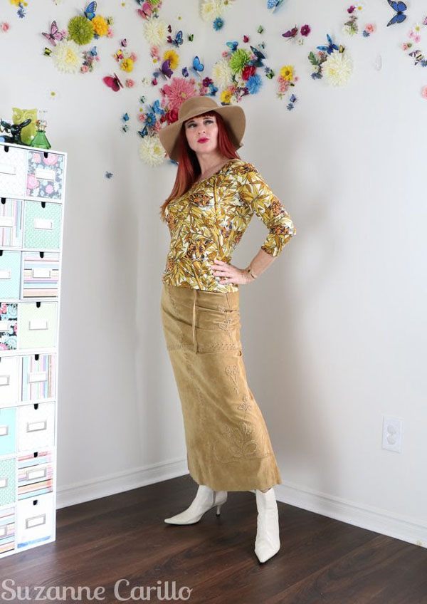 How to style vintage looks | 40plusstyle.com
