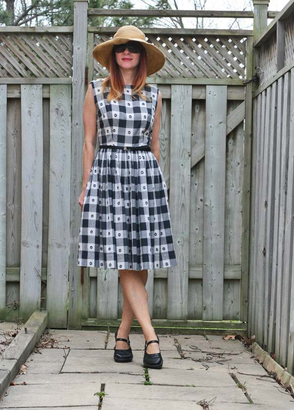 Stylish checkered dresses for women | 40plusstyle.com
