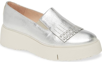 Wonders wedge loafer | 40plusstyle.com