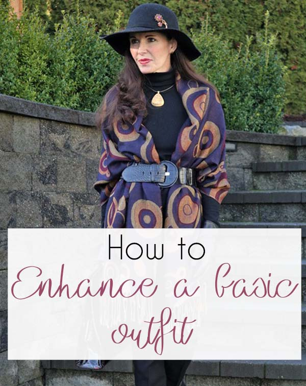 How to enhance a basic outfit – See how I created 5 different looks with the same base!