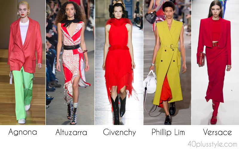 The best 2018 Spring trends: primary colors | 40plusstyle.com