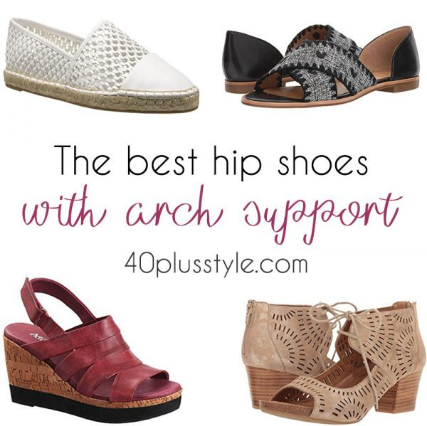 best arch support shoes for women over 40 | 40plusstyle