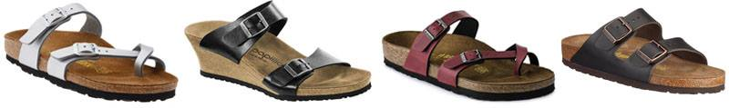 Birkenstock women's shoes for arch support | 40plusstyle.com