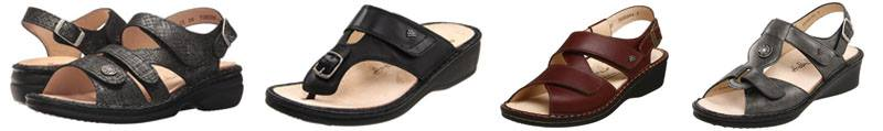 Finn Comfort women's shoes for arch support | 40plusstyle.com