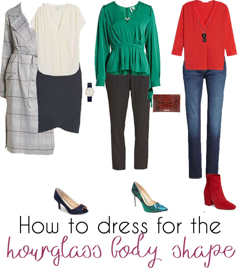 ideas on how to dress the hourglass body | 40plusstyle.com
