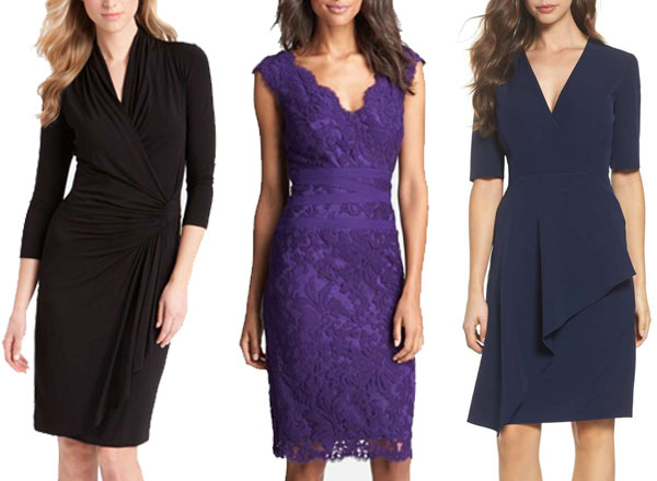 Dress options for the hourglass body shape | 40plusstyle.com