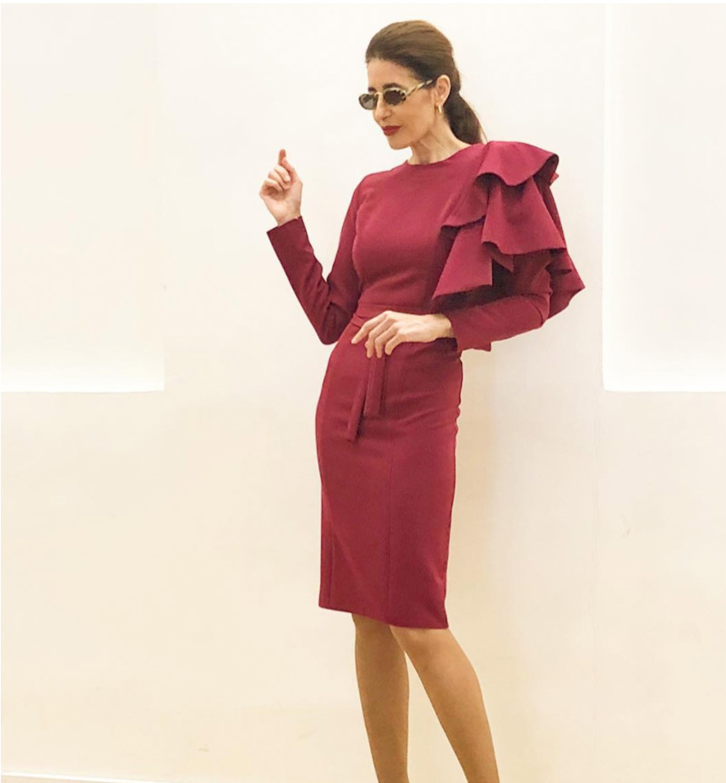 bold red looks for women over 40 | 40plusstyle.com