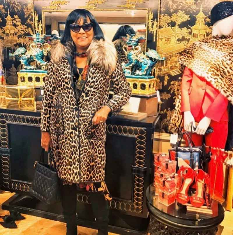 leopard print outfits for women over 40 | 40plusstyle.com