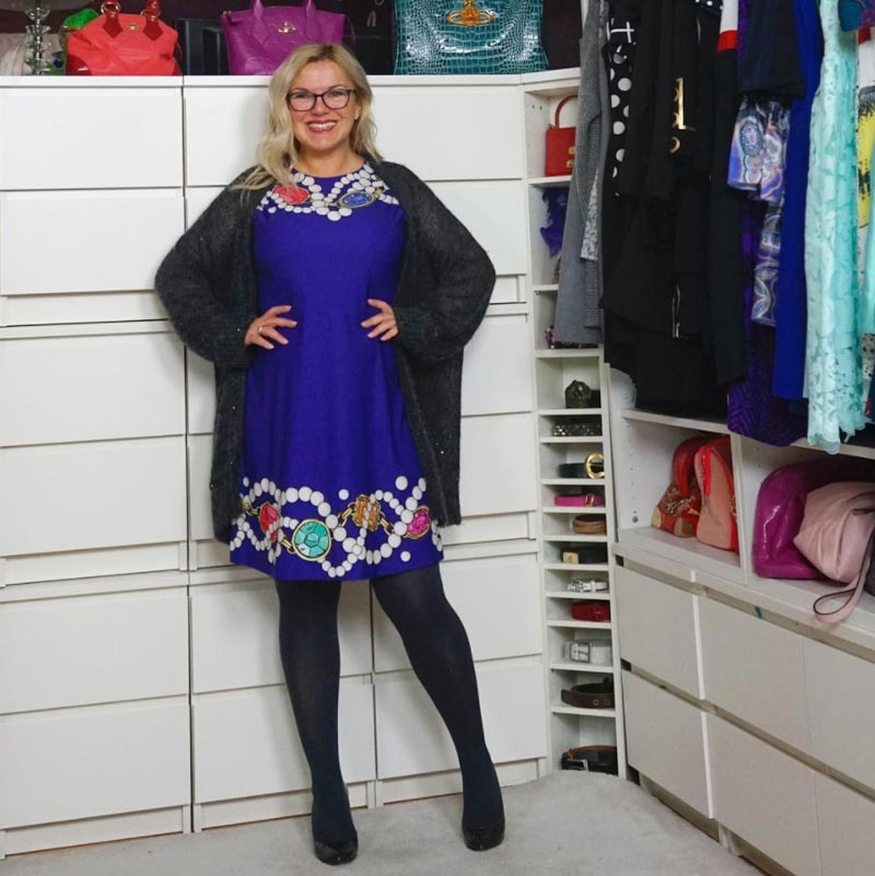 how to layer a dress | 40plusstyle.com