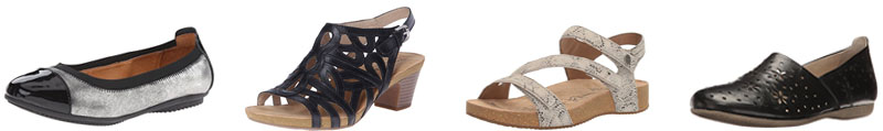 Josef Seibel women's shoes for arch support | 40plusstyle.com