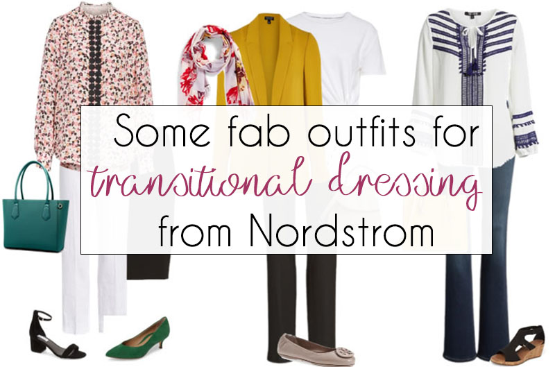 10 fab outfits that help you transition into spring! | 40plusstyle.com