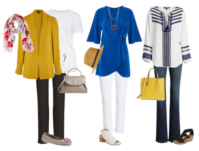 outfits for transitional dressing | 40plusstyle.com