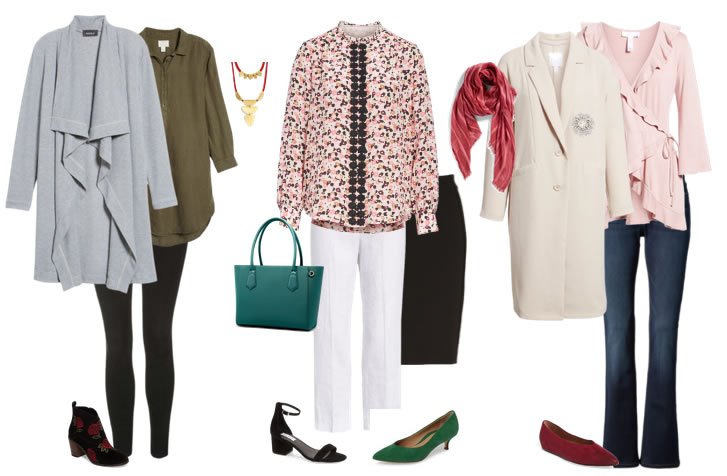 Some fab outfits for transitional dressing | 40plusstyle.com