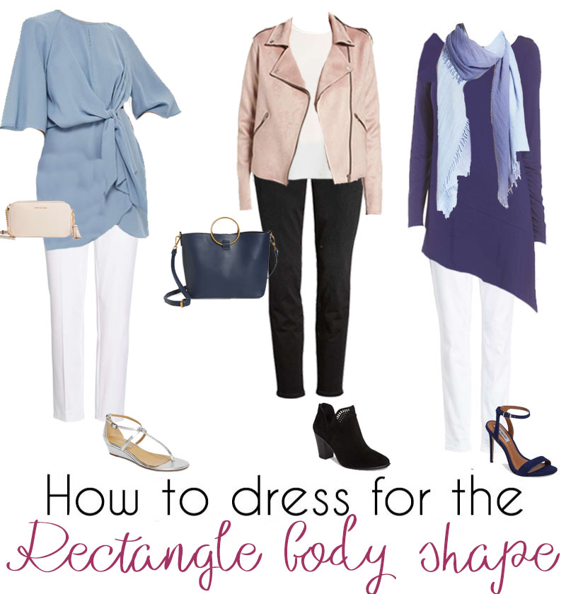 3ae50fb0c1d How to dress the rectangle body shape – dressing for your body type