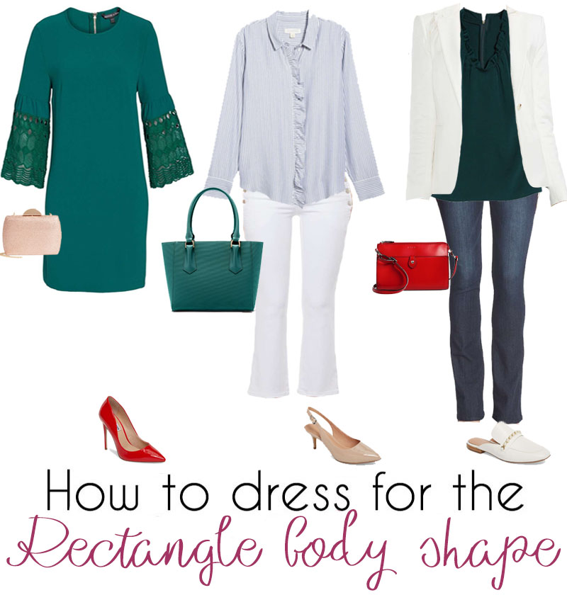 2a3bfdd7998b9 How to dress the rectangle body shape – dressing for your body type