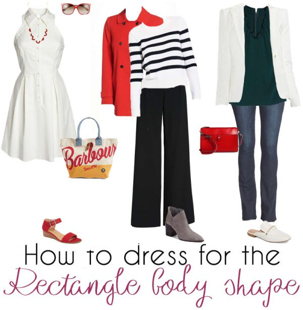 946cafbad9d22 How to dress the rectangle body shape – dressing for your body type