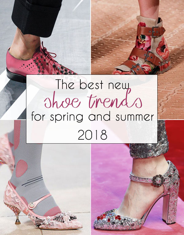 The best shoe trends for spring 2018