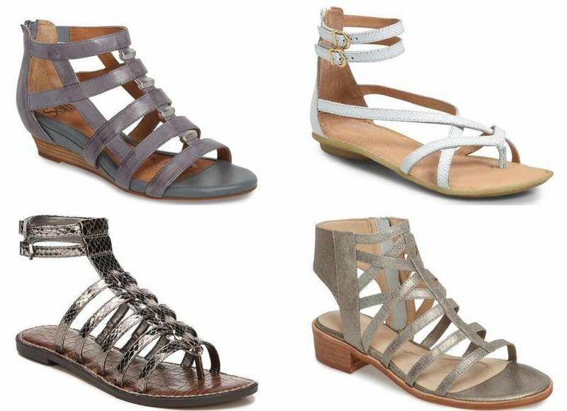 gladiator sandals | 40plusstyle.com