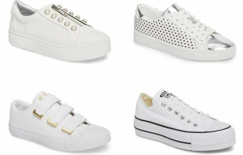 white sneakers for women over 40   40plusstyle.com