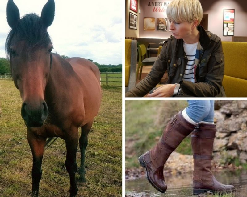 Brown riding boots   40plusstyle.com