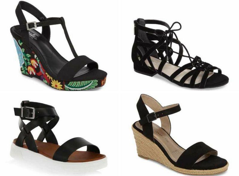 Black women's sandals | 40plusstyle.com
