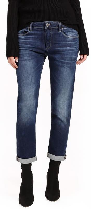 boyfriend jeans | 40plusstyle.com