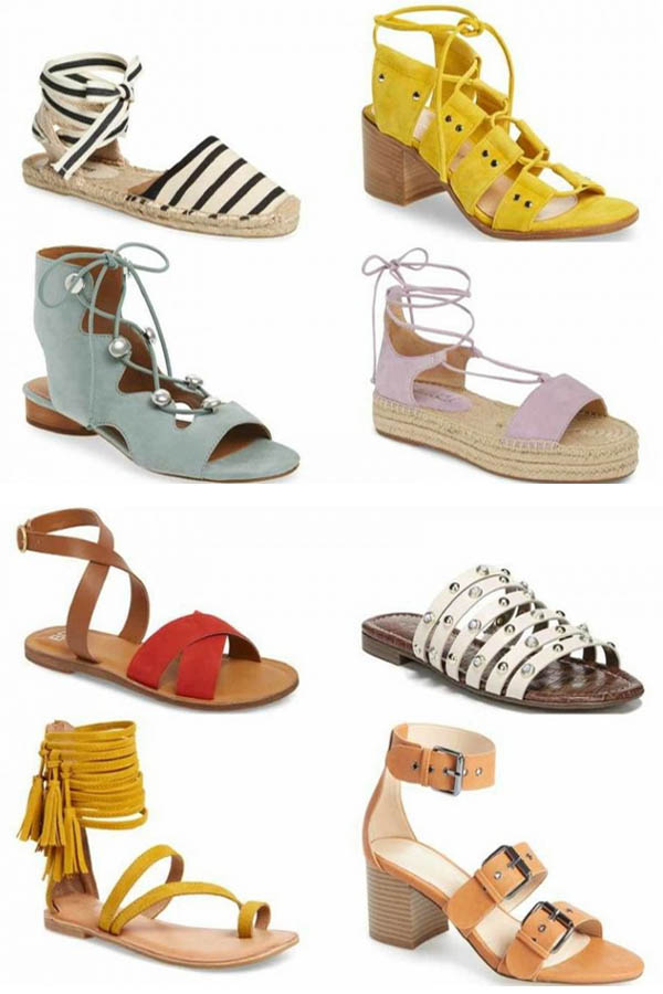 10 of the best women's sandals for summer 2018 | 40plusstyle.com