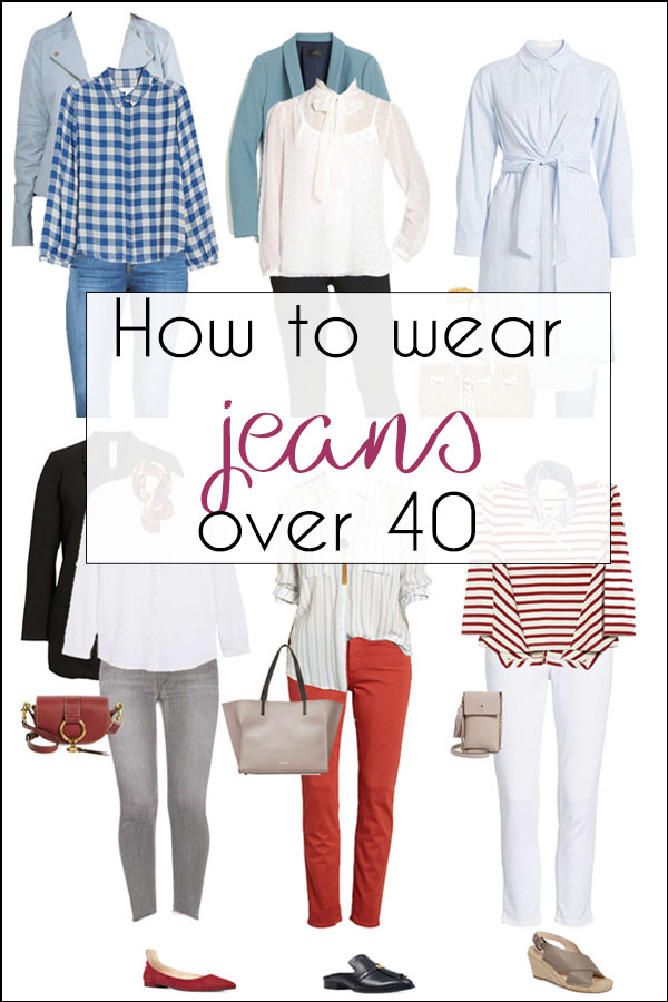 How to wear jeans after 40 | 40plusstyle.com