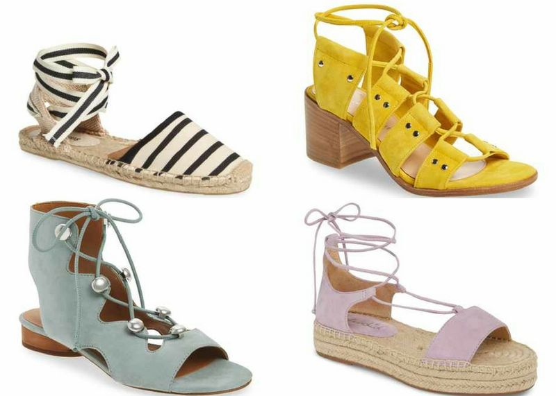 Lace-up women's sandals styles for summer | 40plusstyle.com
