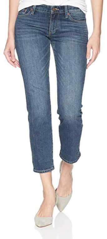 Lucky brand cropped jeans | 40plusstyle.com