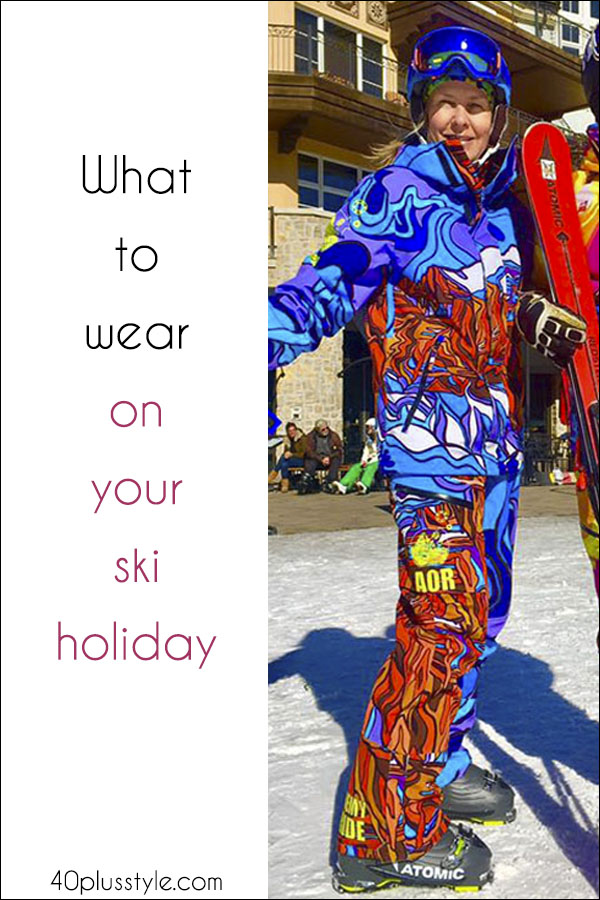 Inspired by the Winter Olympics? Here's what to take on your next ski holiday | 40plusstyle.com