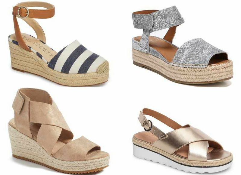 gold sandals for summer | 40plusstyle.com