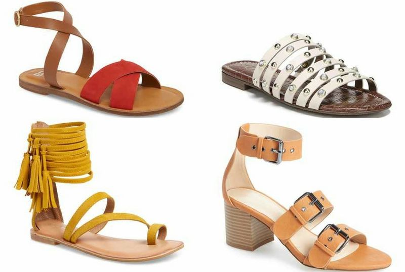 strappy sandals for women | 40plusstyle.com