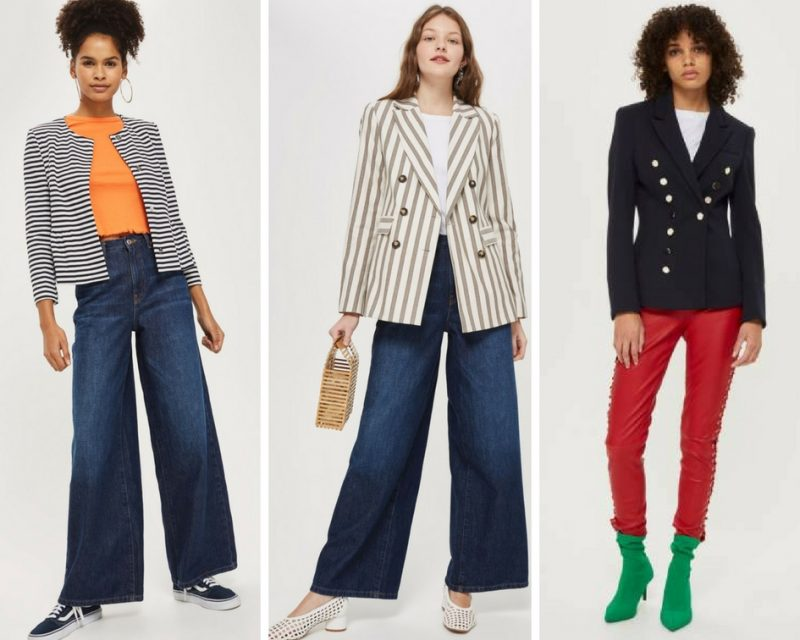 Topshop blazers for women over 40 | 40plusstyle.com