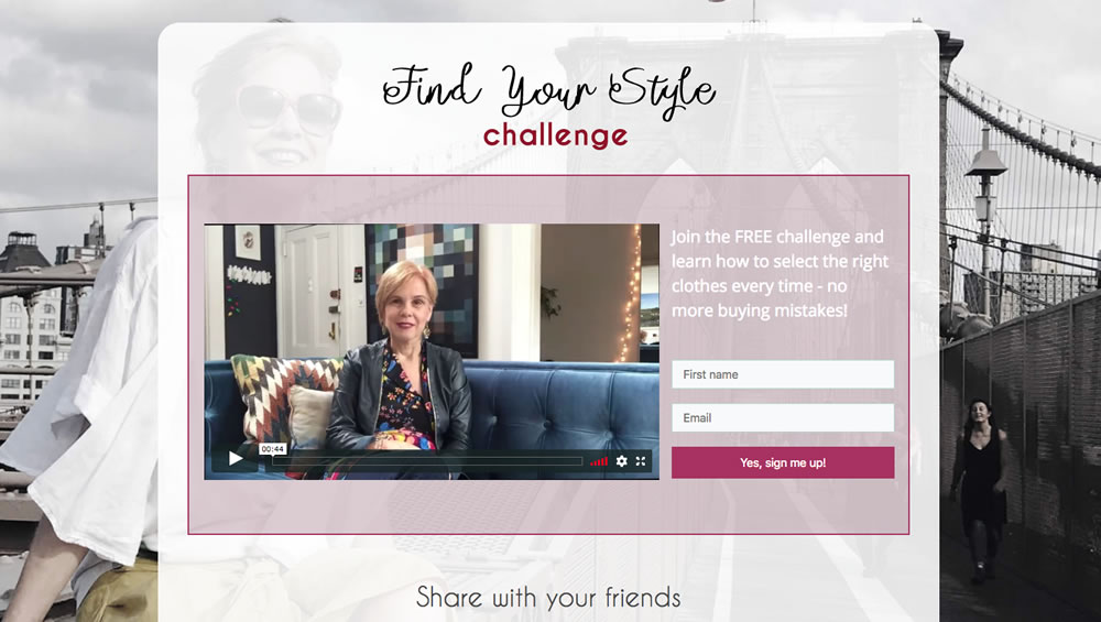 Find your own unique style in the Find Your Style Challenge | 40plusstyle.com