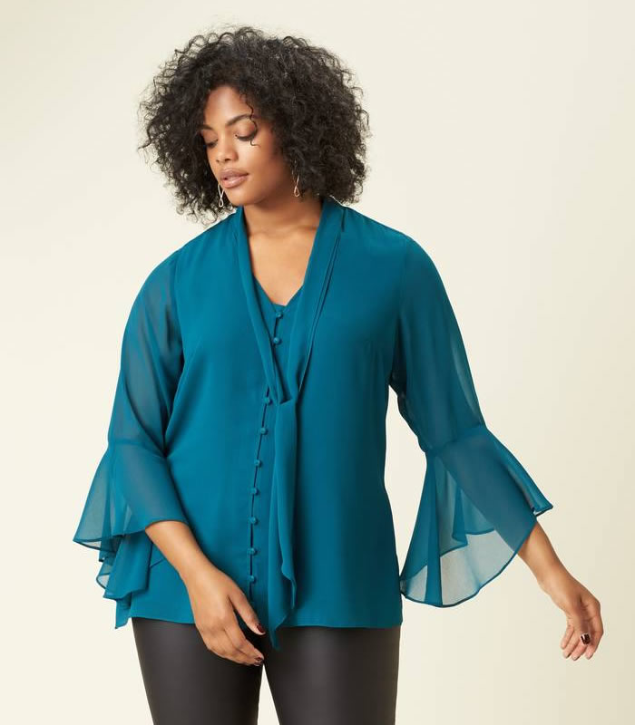 e44ee2cec291ac The best plus size tops for summer in stores now