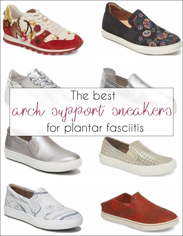 The best arch support sneakers for Plantar Fasciitis | 40plusstyle.com