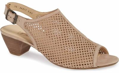 Paul Green slingback sandal | 40plusstyle.com