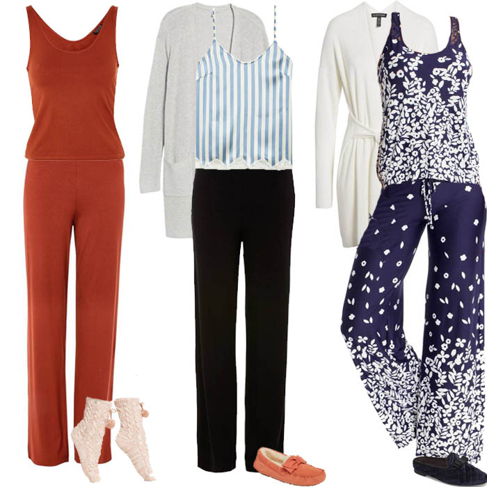 Comfy loungewear outfits | 40plusstyle.com