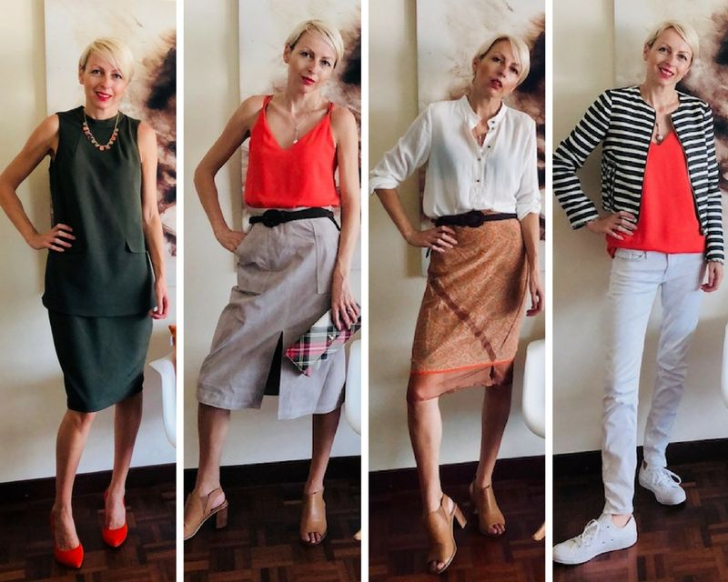 How to wear orange over 40 | 40plusstyle.com
