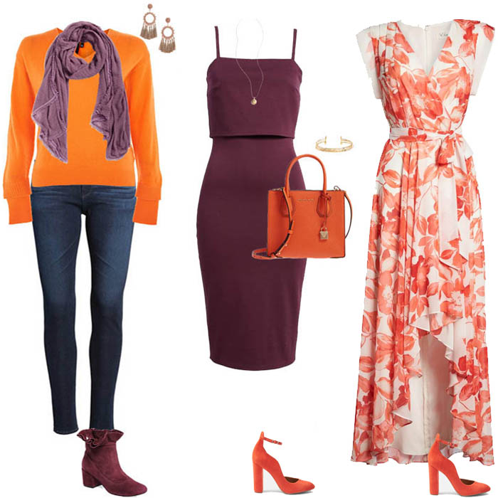 Brown dress shoes combination style guru fashion glitz for What color shirt goes with a purple skirt