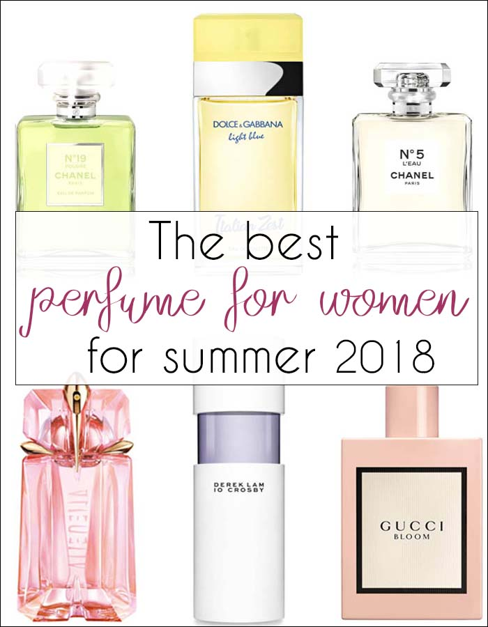 The best perfume for women for summer 2018 | 40plusstyle.com