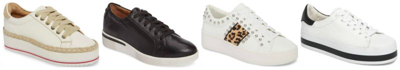 Platform sneakers for spring | 40plusstyle.com