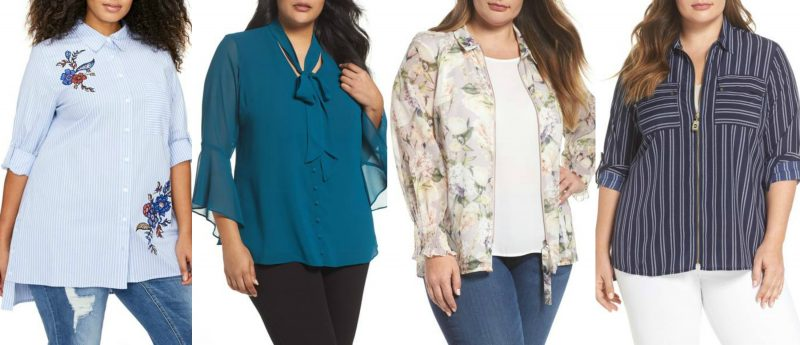 Stylish and elegant plus size tops for summer | 40plusstyle.com