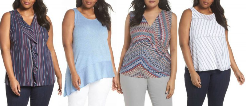 The best plus size tank tops for summer in stores now | 40plusstyle.com