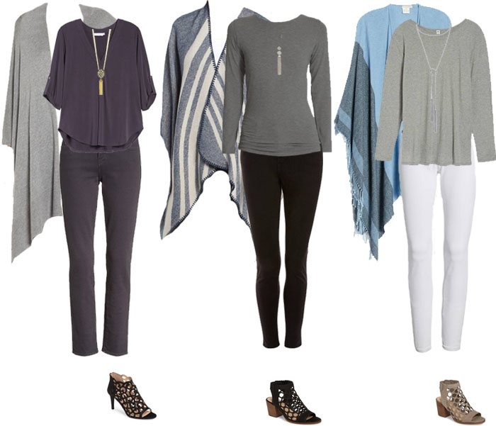 How to hide your belly with long cardigans | 40plusstyle.com