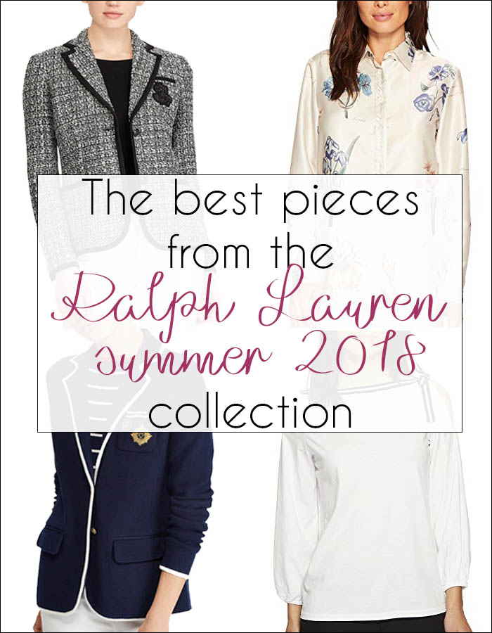 The best pieces from the Ralph Lauren summer 2018 collection | 40plusstyle.com