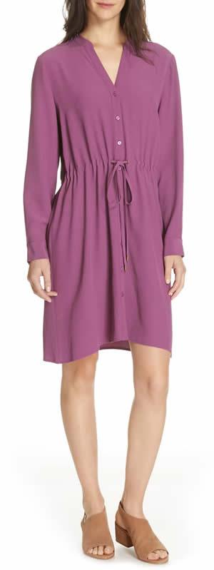 shirt dress for petites | 40plusstyle.com